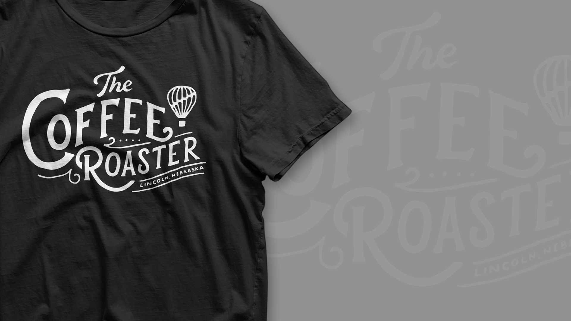 The Coffee Roaster T-shirt designs Agency 877