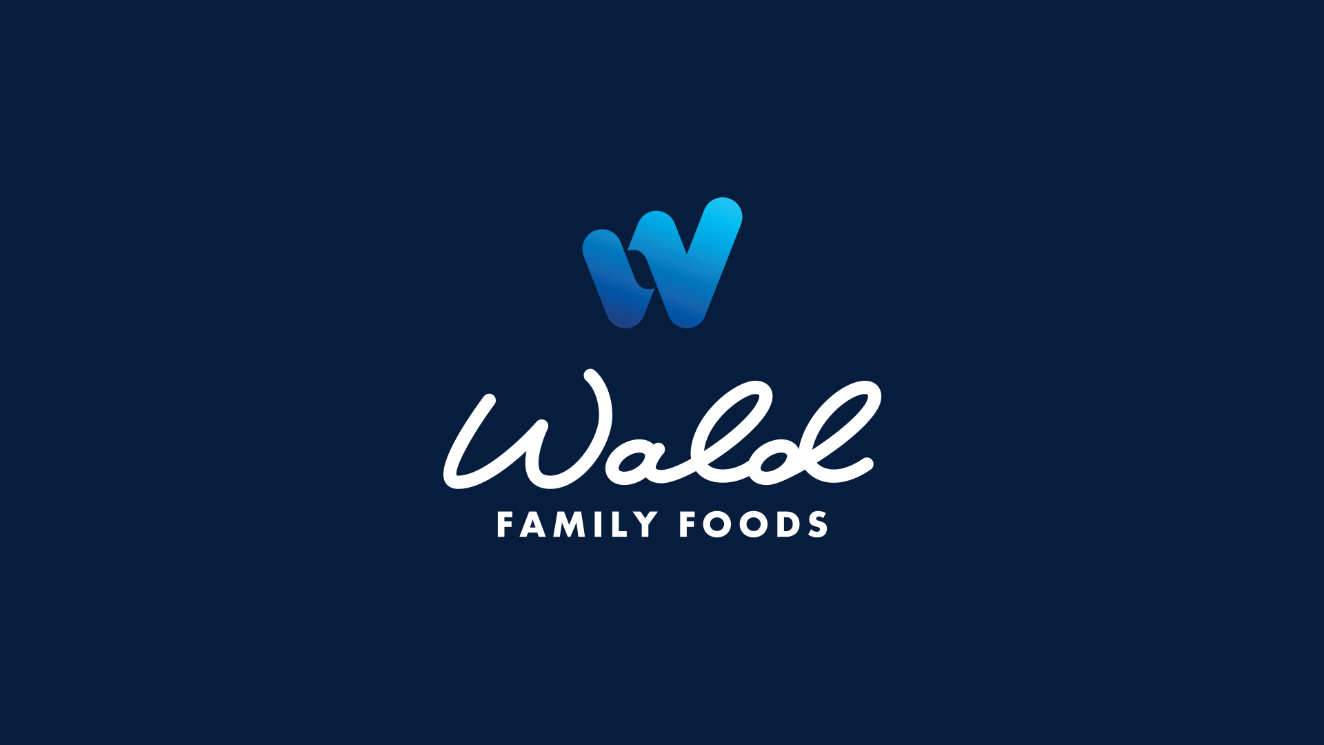 Wald Family Foods logo by Agency 877